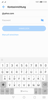 Huawei P20 Pro - E-Mail - Konto einrichten (yahoo) - Schritt 5