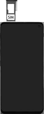 Samsung Galaxy S10e - SIM-Karte - Einlegen - Schritt 4