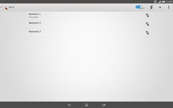 Sony Xperia Tablet Z2 LTE - WiFi - WiFi configuration - Step 8