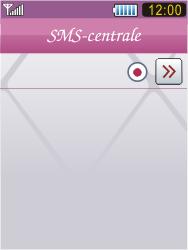 Samsung S7070 Diva - SMS - Handmatig instellen - Stap 7