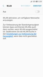 Samsung Galaxy S7 - Android Nougat - WLAN - Manuelle Konfiguration - Schritt 6