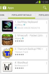 Samsung S6790 Galaxy Fame Lite - apps - app store gebruiken - stap 7