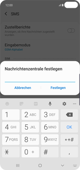 Samsung Galaxy S10 Plus - SMS - Manuelle Konfiguration - Schritt 10