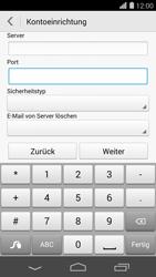 Huawei Ascend P7 - E-Mail - Konto einrichten - 1 / 1