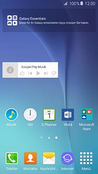 Samsung Galaxy A8 - Startanleitung - Installieren von Widgets und Apps auf der Startseite - Schritt 9