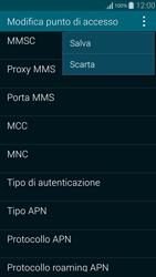 Samsung G850F Galaxy Alpha - Internet e roaming dati - Configurazione manuale - Fase 15