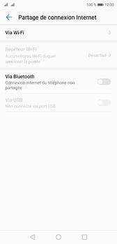 Huawei P20 - Internet et connexion - Partager votre connexion en Wi-Fi - Étape 5