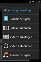 Sony Xperia E - MMS - Erstellen und senden - Schritt 16