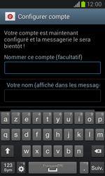 Samsung I8260 Galaxy Core - E-mail - Configuration manuelle - Étape 19