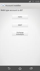Sony D6603 Xperia Z3 - E-mail - Handmatig instellen - Stap 7