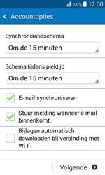 Samsung G355 Galaxy Core 2 - E-mail - e-mail instellen: IMAP (aanbevolen) - Stap 16