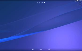 Sony Xperia Tablet Z2 LTE - Operazioni iniziali - Installazione di widget e applicazioni nella schermata iniziale - Fase 11