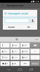 Huawei Ascend P6 LTE - Messagerie vocale - Configuration manuelle - Étape 8