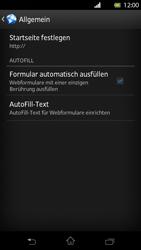 Sony Xperia T - Internet und Datenroaming - Manuelle Konfiguration - Schritt 21