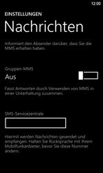 Nokia Lumia 920 LTE - SMS - Manuelle Konfiguration - Schritt 5