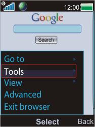 Sony W595 - Internet - Internet browsing - Step 6