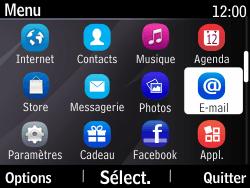 Nokia Asha 210 - E-mail - Configuration manuelle - Étape 3
