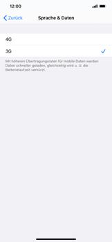 Apple iPhone 11 - iOS 14 - Netzwerk - So aktivieren Sie eine 4G-Verbindung - Schritt 6