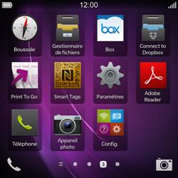 BlackBerry Q10 - Wifi - configuration manuelle - Étape 2