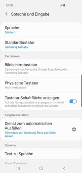 Samsung Galaxy S10 Plus - Startanleitung - So fügen Sie eine Tastatursprache hinzu - Schritt 6