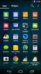 Acer Liquid Jade S - sms - handmatig instellen - stap 3