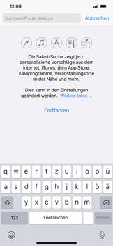 Apple iPhone XR - iOS 14 - Internet und Datenroaming - Verwenden des Internets - Schritt 4