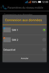 Alcatel OT-4015X Pop C1 - Internet et connexion - Désactiver la connexion Internet - Étape 7