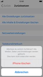 Apple iPhone SE - iOS 13 - Fehlerbehebung - Handy zurücksetzen - Schritt 9