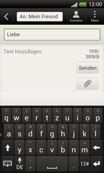 HTC One SV - MMS - Erstellen und senden - 13 / 21
