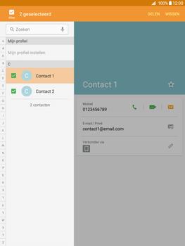 Samsung Galaxy Tab A 9.7 (SM-T555) - Contacten en data - Contacten overzetten via Bluetooth - Stap 6