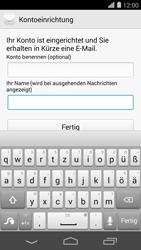Huawei Ascend P7 - E-Mail - Konto einrichten - Schritt 21