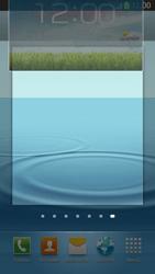 Samsung Galaxy S III LTE - Startanleitung - Installieren von Widgets und Apps auf der Startseite - Schritt 8
