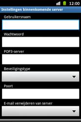 Samsung S6500D Galaxy Mini 2 - E-mail - handmatig instellen - Stap 7