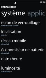 Nokia Lumia 800 - Internet - configuration manuelle - Étape 4