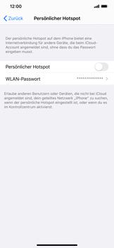 Apple iPhone XR - iOS 13 - WiFi - So aktivieren Sie einen WLAN-Hotspot - Schritt 6