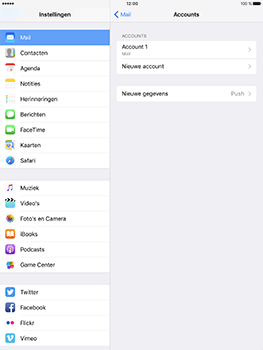 Apple ipad-pro-9-7-inch-met-ios10-model-a1674 - E-mail - Instellingen KPNMail controleren - Stap 6