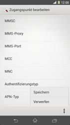 Sony Xperia Z1 - MMS - Manuelle Konfiguration - Schritt 16