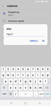 Samsung Galaxy S8 Plus - Internet e roaming dati - configurazione manuale - Fase 28