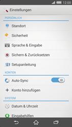Sony Xperia Z2 - Fehlerbehebung - Handy zurücksetzen - 6 / 11