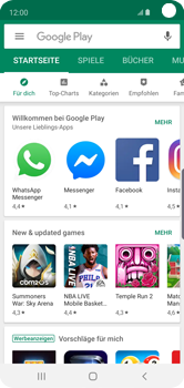 Samsung Galaxy S10e - Apps - Konto anlegen und einrichten - Schritt 21