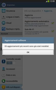 Samsung Galaxy Tab 3 8-0 LTE - Software - Installazione degli aggiornamenti software - Fase 10
