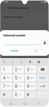 Samsung Galaxy A40 - Voicemail - Manual configuration - Step 10