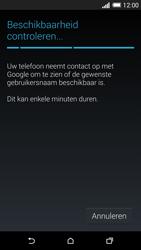 HTC One M8 - apps - account instellen - stap 9