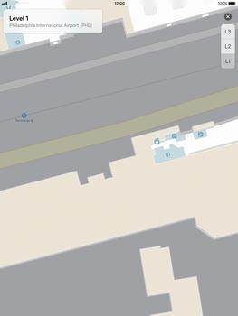 Apple iPad Pro 9.7 inch - iOS 11 - Indoor-Karten (Einkaufszentren/Flughäfen) - 9 / 12