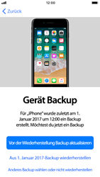 Apple iPhone 8 - iOS 11 - Persönliche Einstellungen von einem alten iPhone übertragen - 17 / 30