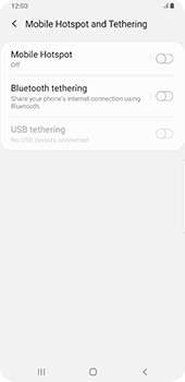 Samsung Galaxy Note9 - Android Pie - WiFi - How to enable WiFi hotspot - Step 6