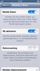 Apple iPhone 5 - Internet und Datenroaming - Manuelle Konfiguration - Schritt 6