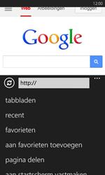 Nokia Lumia 625 - Internet - Hoe te internetten - Stap 14