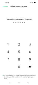 Oppo Reno 4 Pro - Sécuriser votre mobile - Activer le code de verrouillage - Étape 9