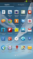 Samsung Galaxy Note II - Internet et roaming de données - Navigation sur Internet - Étape 3